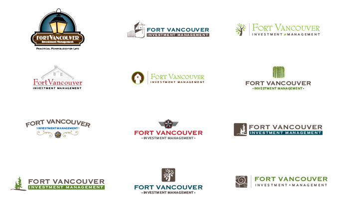 Fort Vancouver Investment Management logo work